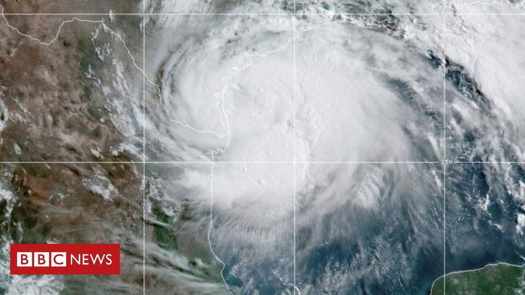 Hurrikan Hanna schlägt Südtexas