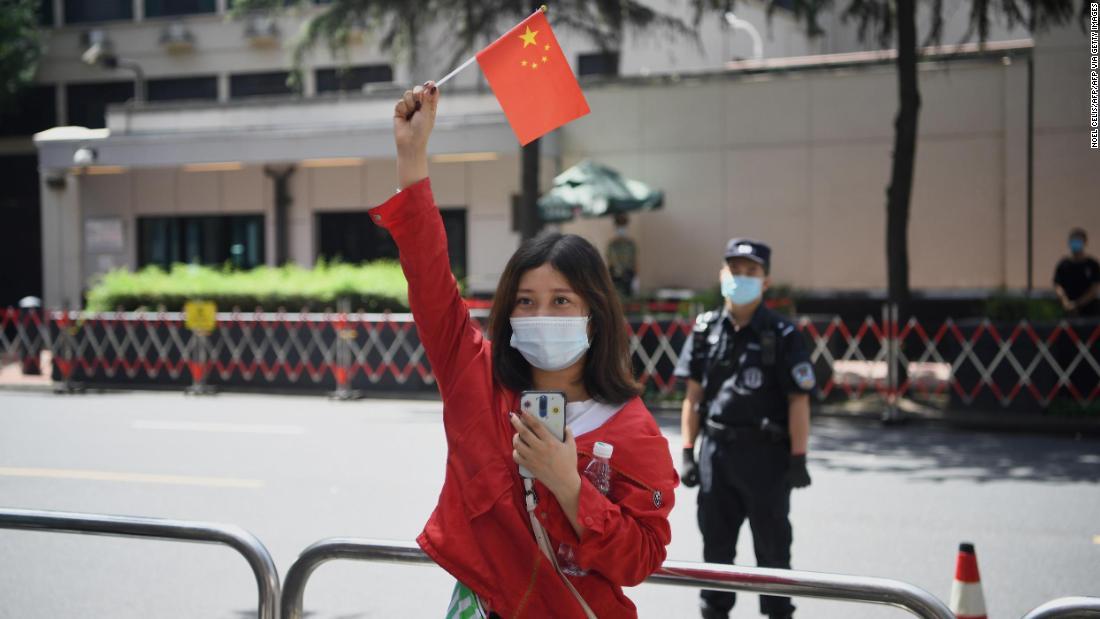Das US-Konsulat in Chengdu schließt offiziell als Vergeltung für die Schließung von Houston