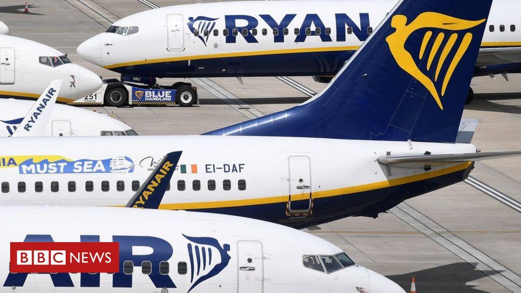 """Ryanair schwankt in einer """"herausfordernden"""" Pandemie"""