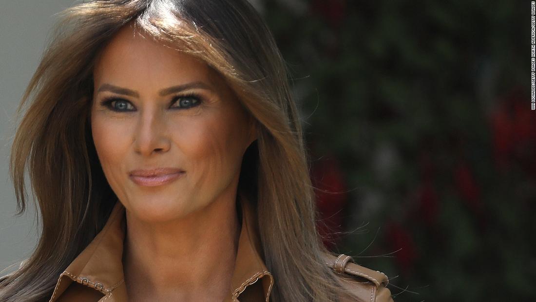 Melania Trumps brillante Rosengarten-Idee (Meinung)