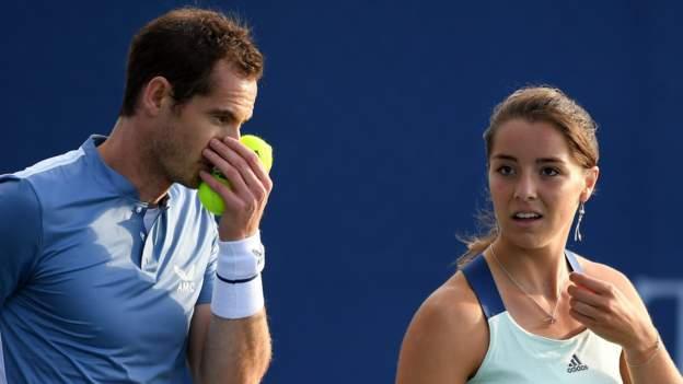 Battle of the Brits Team Tennis: Andy Murray verliert im gemischten Doppel, Jo Konta & Dan Evans gewinnen