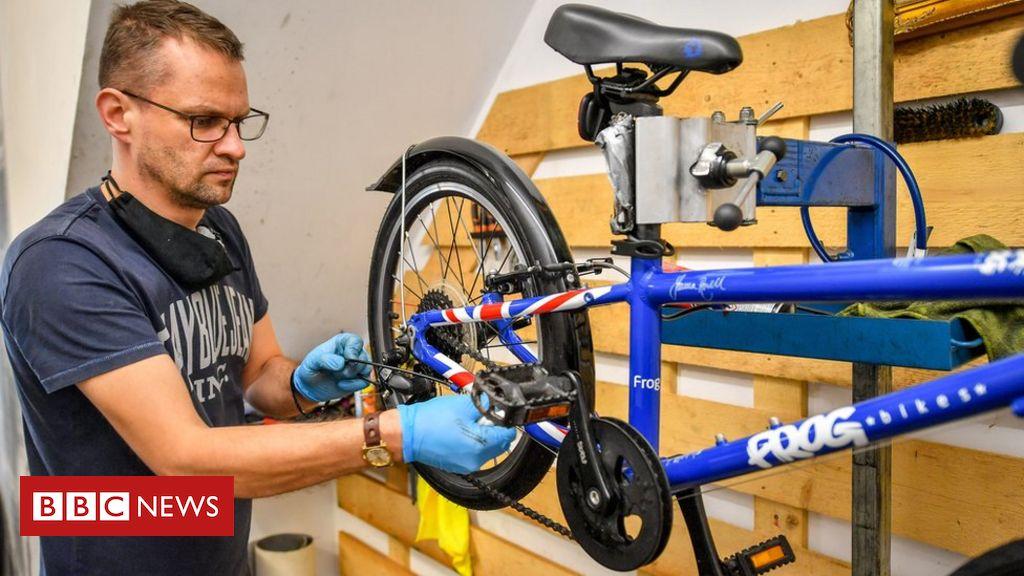 """Die Website """"Fix your Bike"""" stürzt ab, als das Programm in England gestartet wird"""
