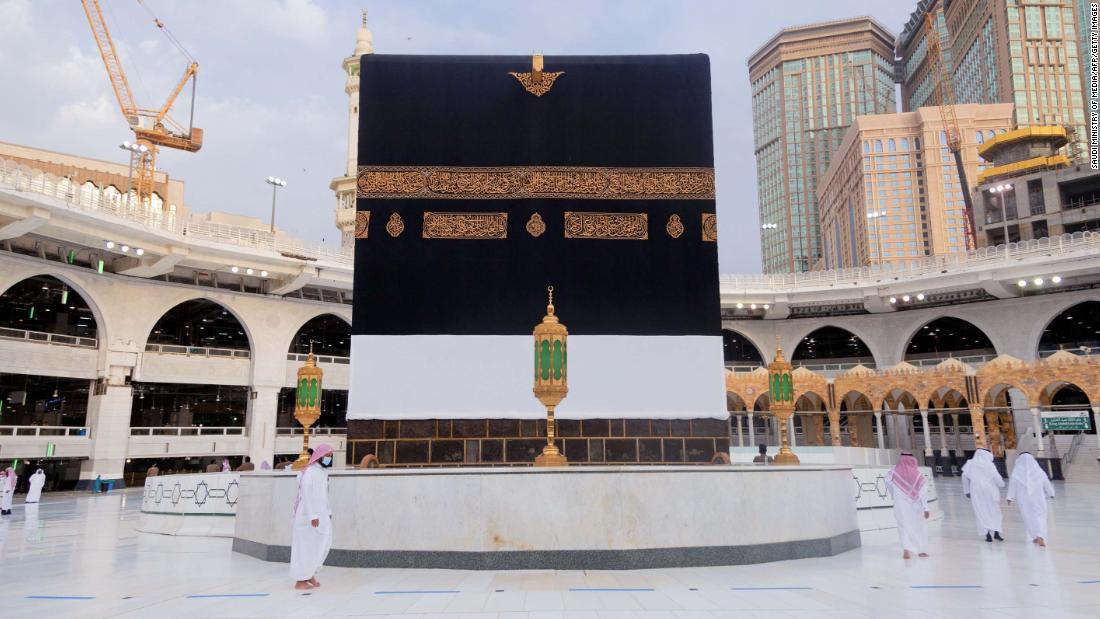 Der Hajj 2020 beginnt - mit 1.000 Pilgern statt der üblichen 2 Millionen
