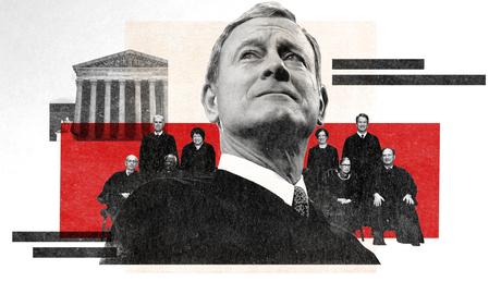 Hinter verschlossenen Türen während eines von John Roberts & # 39; überraschendste Jahre am Obersten Gerichtshof