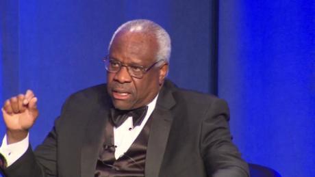 Gerechtigkeit Clarence Thomas sagt, dass Roe Entscheidung nicht