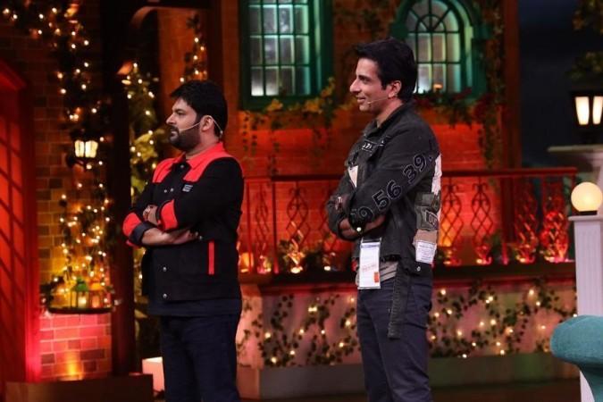 Sonu Sood in der Kapil Sharma Show