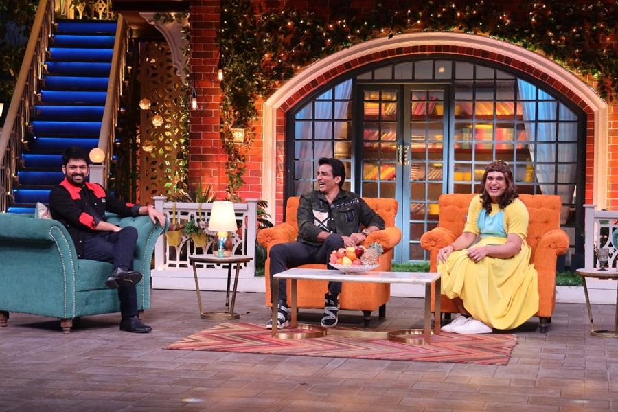 Sonu Sood on The Kapil Sharma Show