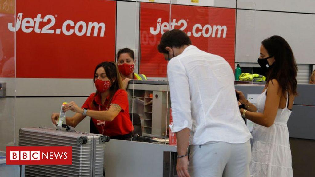 Jet2 fordert Urlauber in Spanien auf, früh nach Hause zu kommen