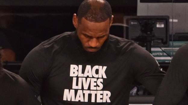 NBA: LeBron James führt Proteste gegen Black Lives Matter an, wenn die Saison wieder beginnt