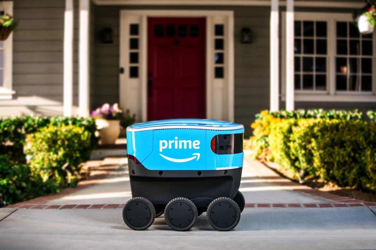 Amazon führt mehr Bots für die kontaktlose Lieferung ein