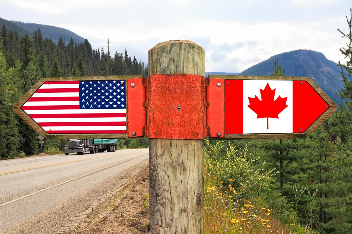 Berichten zufolge haben kanadische Lkw-Fahrer Angst, in die USA einzureisen