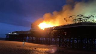 Blackpools zentraler Pier