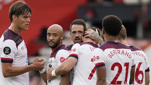 Bournemouth 0-2 Southampton: Danny Ings und Che Adams schicken Kirschen näher an den Rand