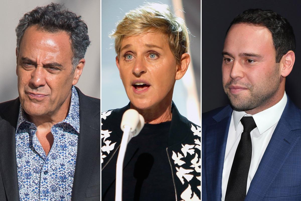 Brad Garrett kritisiert Ellen DeGeneres 'Entschuldigung, Scooter Braun verteidigt sie