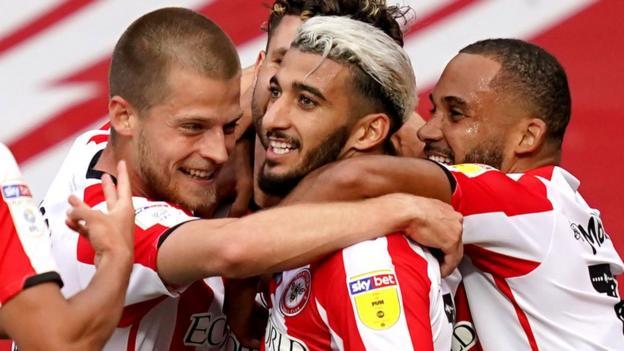 Brentford 3-1 Swansea City (3-2 agg): Bienen erreichen das Play-off-Finale der Meisterschaft
