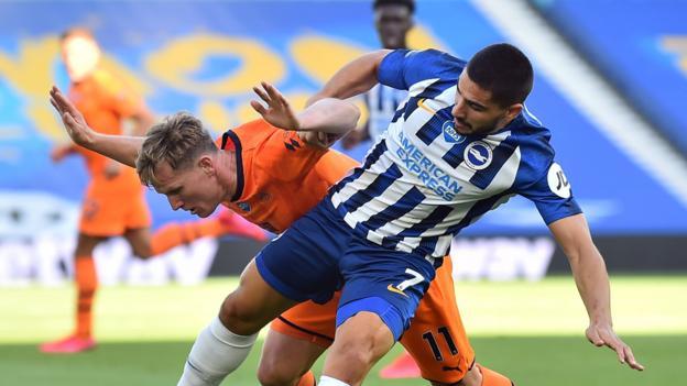 Brighton 0: 0 Newcastle: Gastgeber sichern Sicherheit in der Premier League