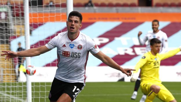 Burnley 1-1 Sheffield United: Egan rettet Unentschieden für Blades bei Turf Moor