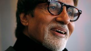 Indischer Schauspieler Amitabh Bachchan