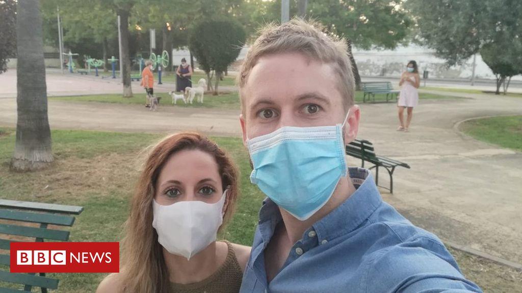 """Coronavirus: """"Verwüstete"""" Reisende reagieren auf die Quarantäneregeln Spaniens"""