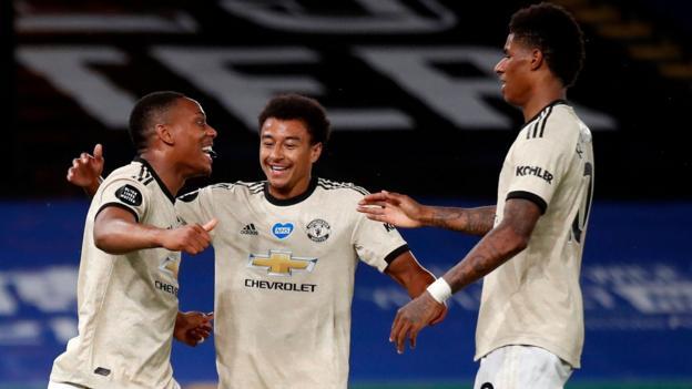 Crystal Palace 0-2 Manchester United: Marcus Rashford und Anthony Martial treffen