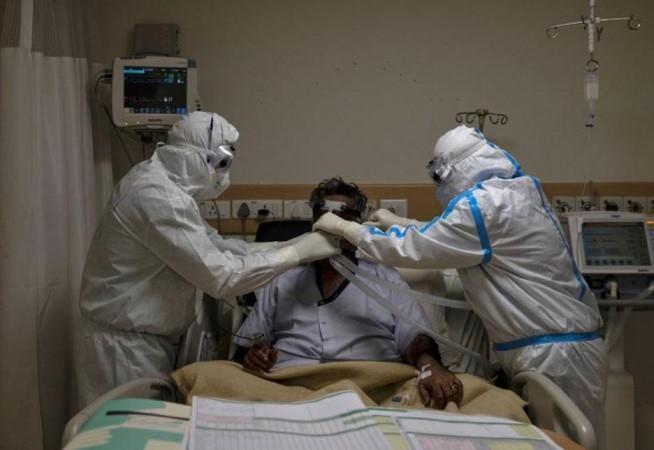Coronavirus-Patient im Krankenhaus