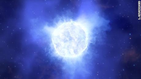 Untersuchung des Verschwindens eines massiven Sterns in einer fernen Galaxie
