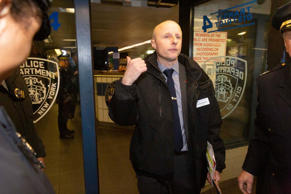 """Der ehemalige U-Bahn-Chef von NYC, Andy Byford, wird in London nicht """"Tube Daddy"""" sein"""
