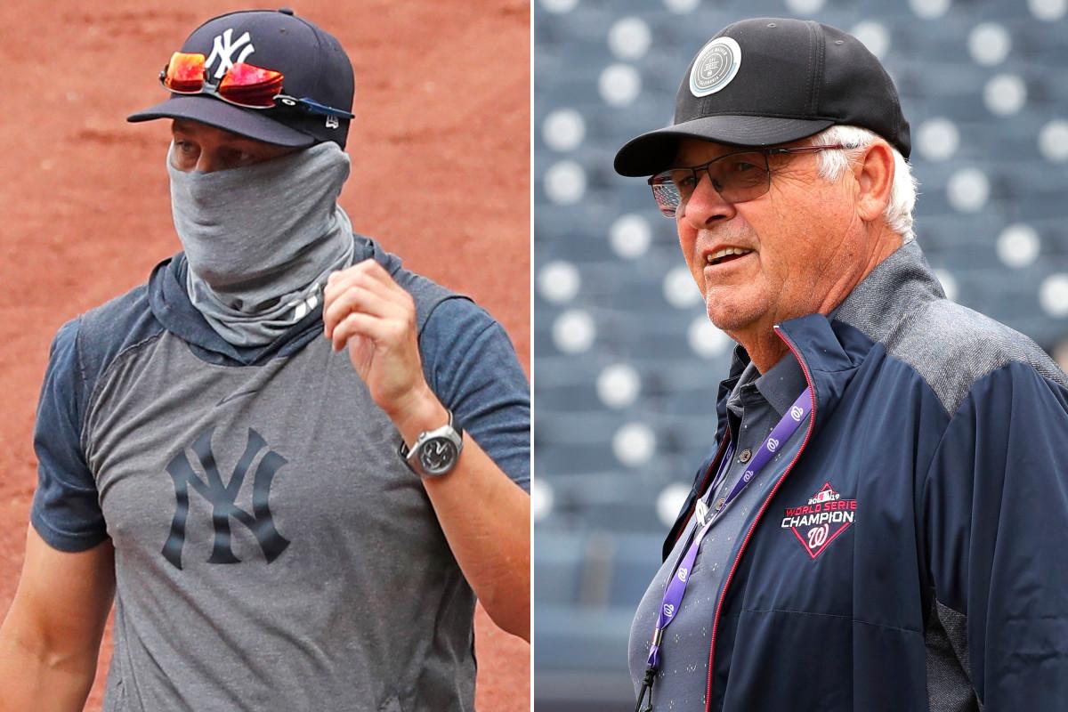 Der wilde Yankees Aaron Boone wurde für die MLB-Saison 2020 gebaut: Bob Boone