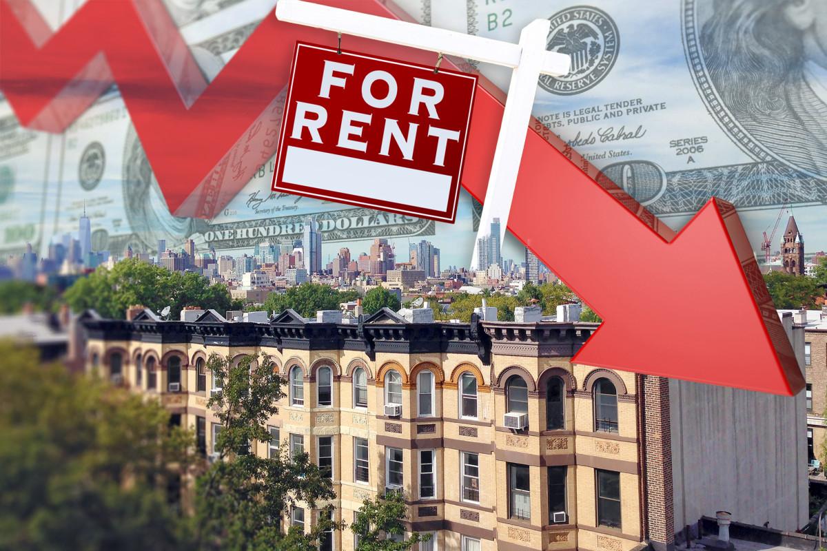 Die Mieten in Manhattan fallen zum ersten Mal seit einem Jahrzehnt