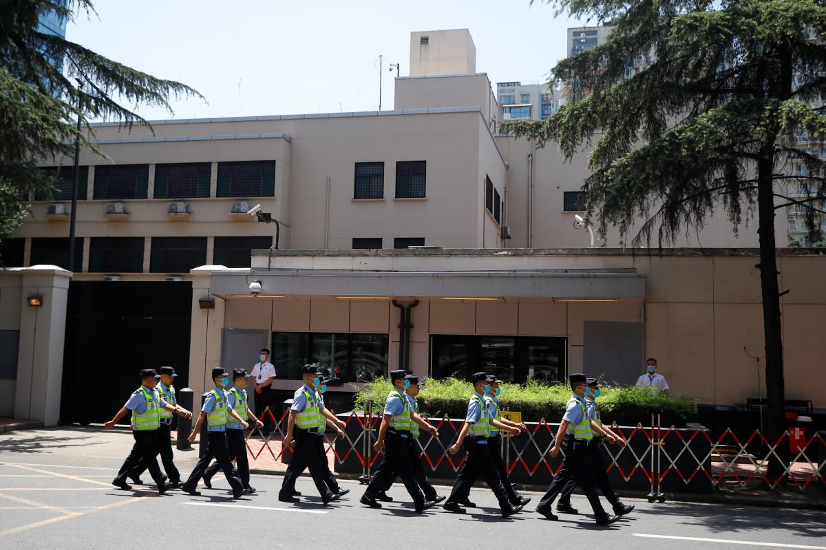 Die USA schließen das Chengdu-Konsulat in China nach Houston-Befehl