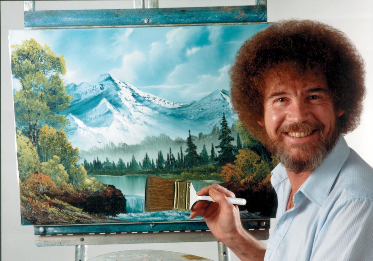 Die massive Sammlung von Bob Ross 'The Joy of Painting' landet auf Tubi