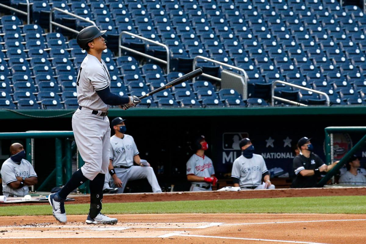 Dies war der perfekte Start für Giancarlo Stanton und Yankees