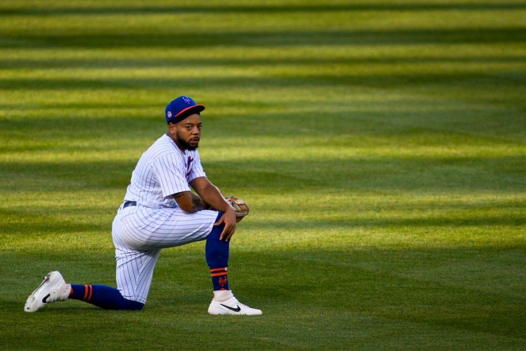 Dominic Smith will Mets zu einer schwierigen Entscheidung drängen