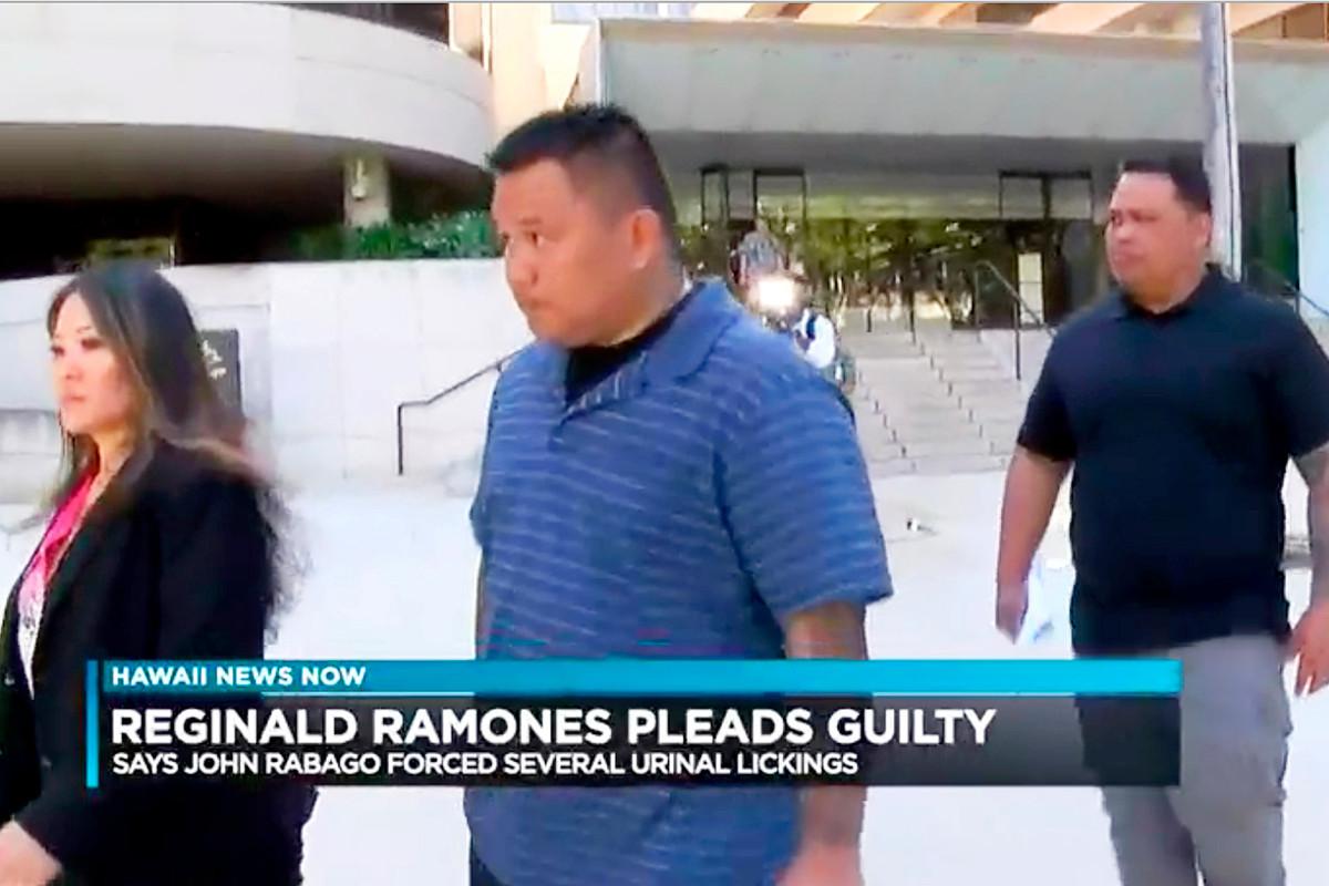 Ehemaliger Polizist aus Honolulu verurteilt, weil er Obdachlose gezwungen hatte, Urinal zu lecken