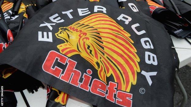 Exeter Chiefs Flagge