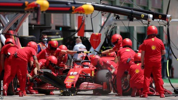 Ferrari beim Großen Preis von Österreich