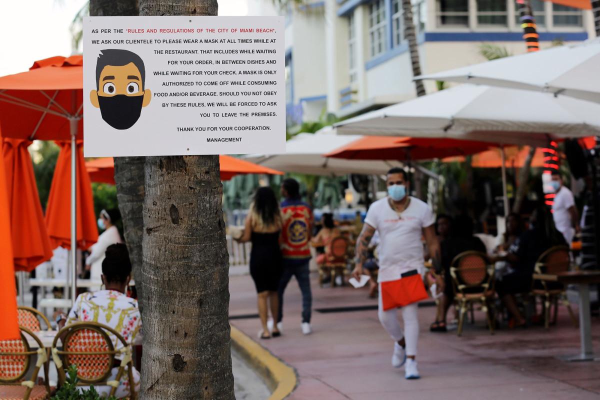 Florida übertrifft New Yorks Coronavirus-Bilanz und verzeichnet 78 Todesfälle