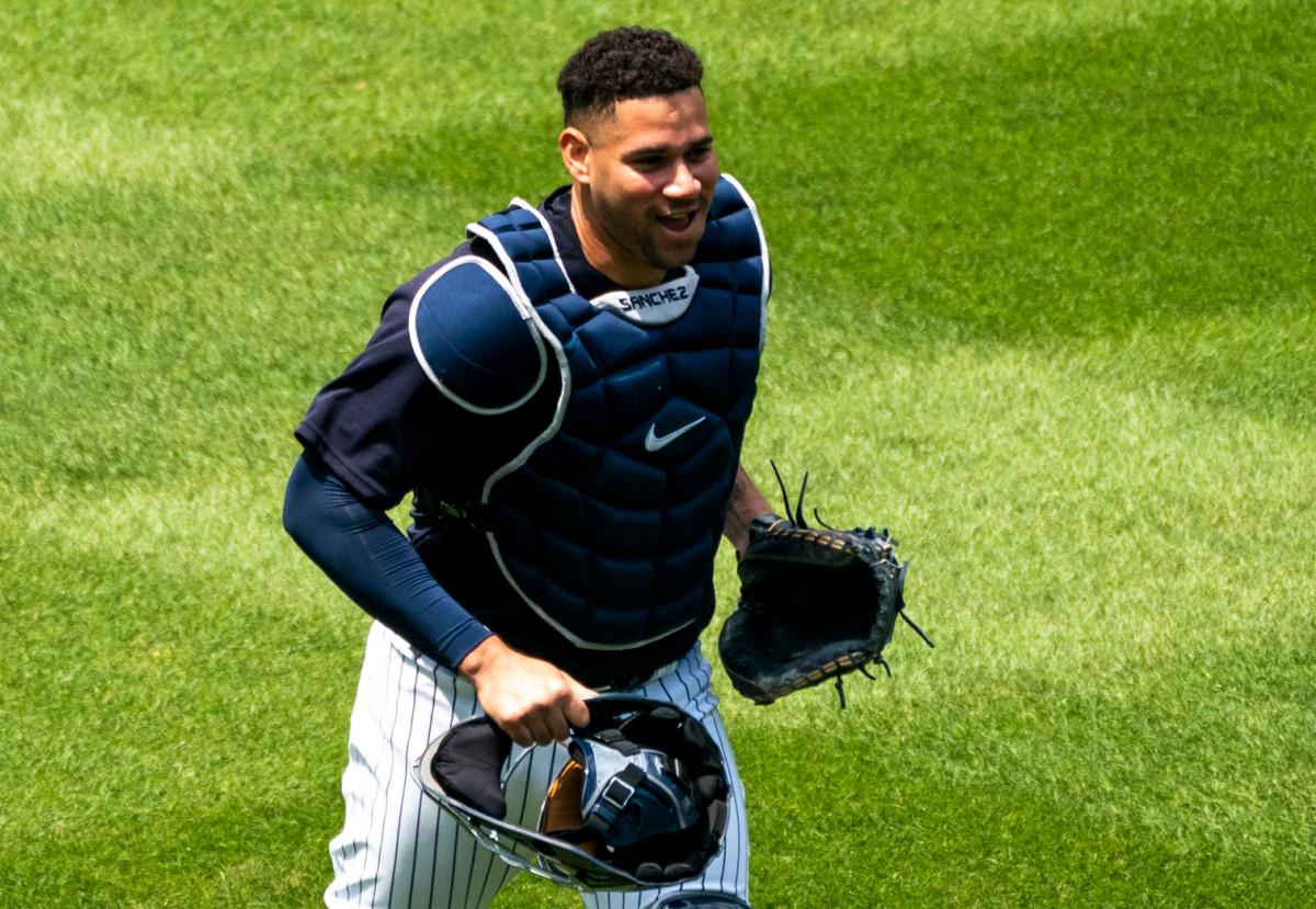 Gary Sanchez von den Yankees eröffnet eine neue Verteidigungshaltung