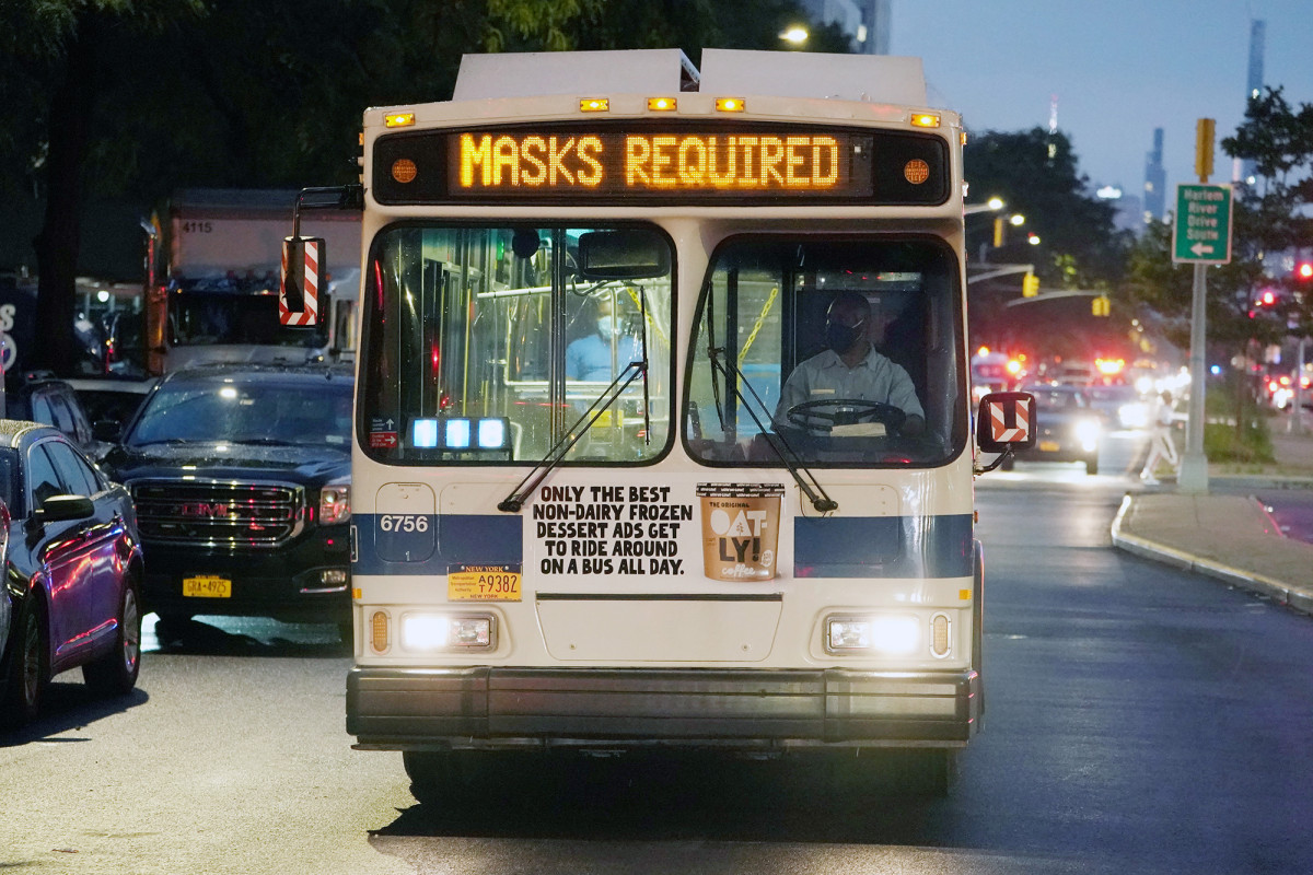 Gewalttätige Busfahrer, die sich weigern, Masken zu tragen, führen zu einem Anstieg der MTA-Angriffe