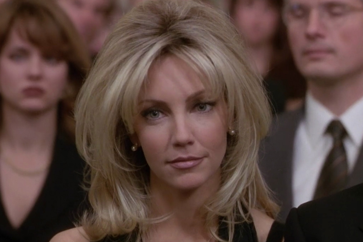 "Heather Locklear behauptet, dass der Co-Star des First Wives Club am Set ""Outlined Her Areola"" war"