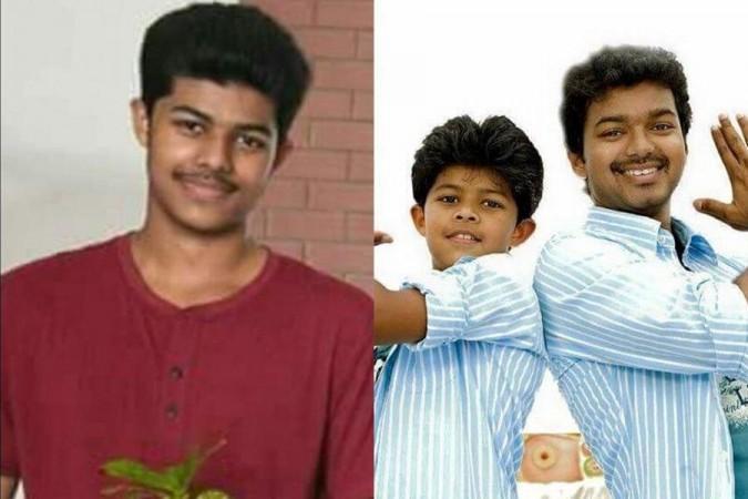 Vijays Sohn Jason Sanjay kann auch einige Züge ausführen