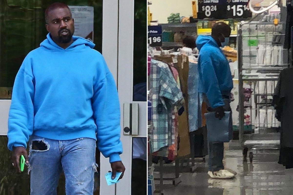 Kanye West kauft in Wyoming Walmart Kinderkleidung