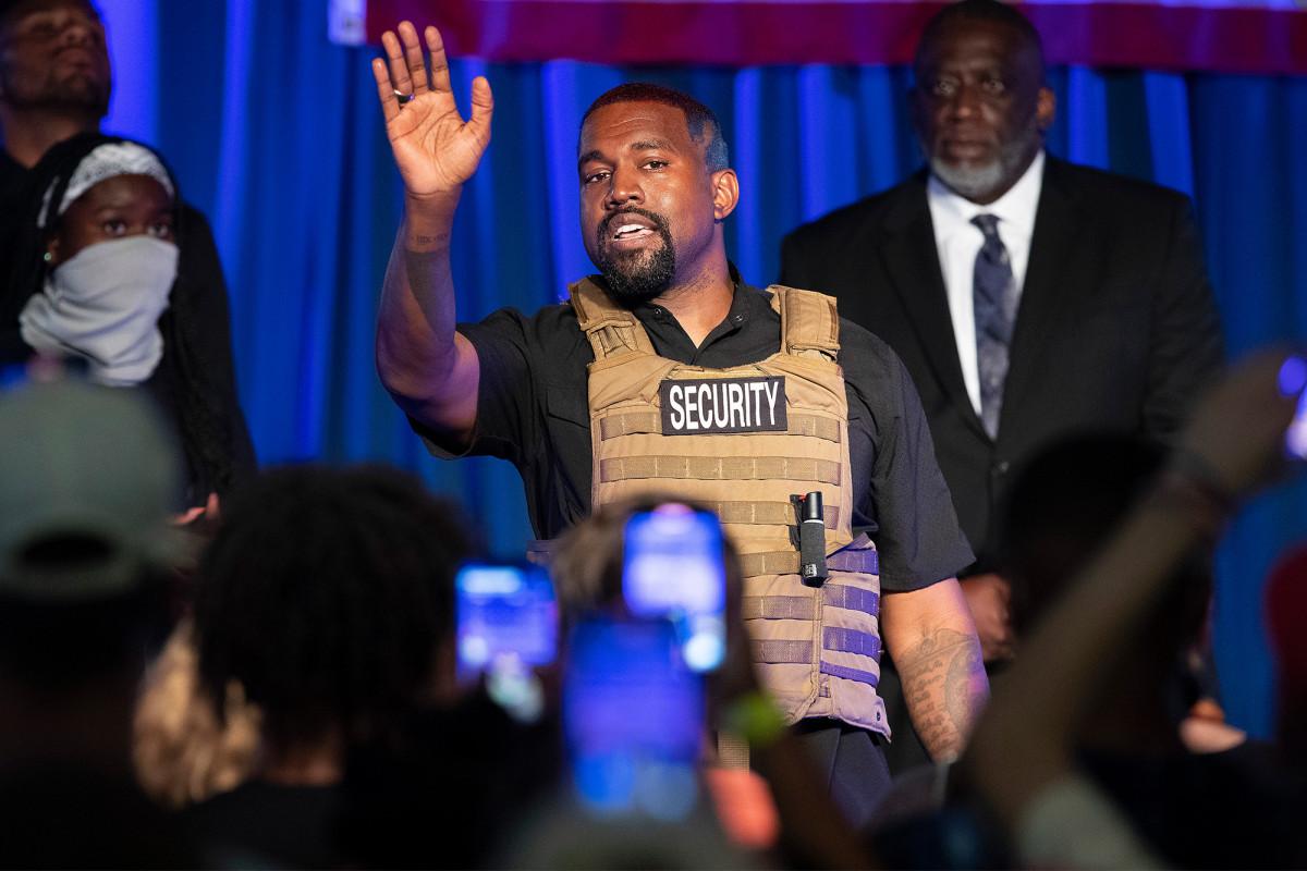 Kanye West reicht Petition für Missouri-Wahl ein, Augen New York State
