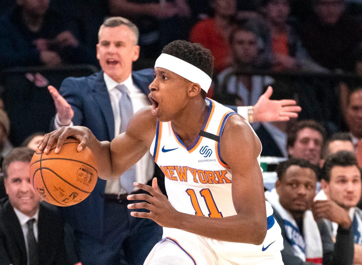 Knicks 'Frank Ntilikina spielt in Frankreich Sommerturnier