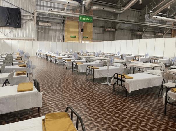 BIEC wird Indiens größte COVID-Pflegeeinrichtung