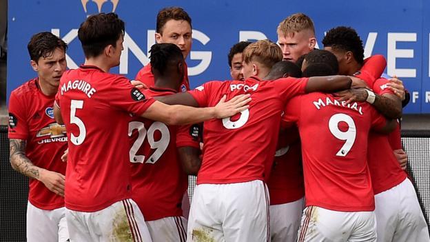 Leicester City 0: 2 Manchester United: Besucher sichern sich den Platz in der Champions League