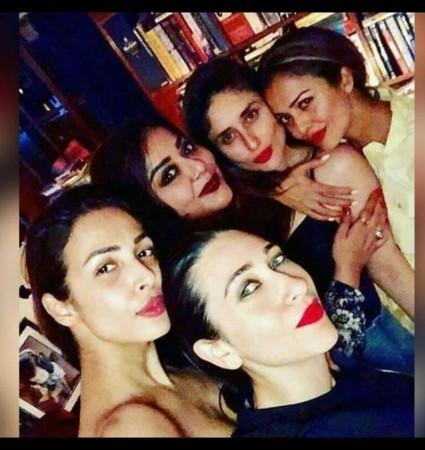 Malaika Arora, Kareena Kapoor Khan, Karisma Kapoor und Amrita Arora