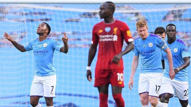 Man City 4: 0 Liverpool: Kevin de Bruyne, Raheem Sterling und Phil Foden treffen