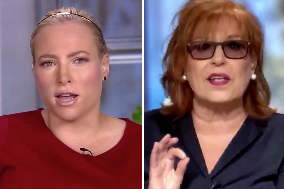 """Meghan McCain und Joy Behar werfen sich über COVID: Sie sind """"anstrengend!"""""""