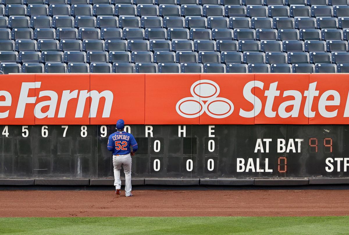 """Mets 'Yoenis Cespedes sieht im Gegenzug zum linken Feld """"natürlich"""" aus"""